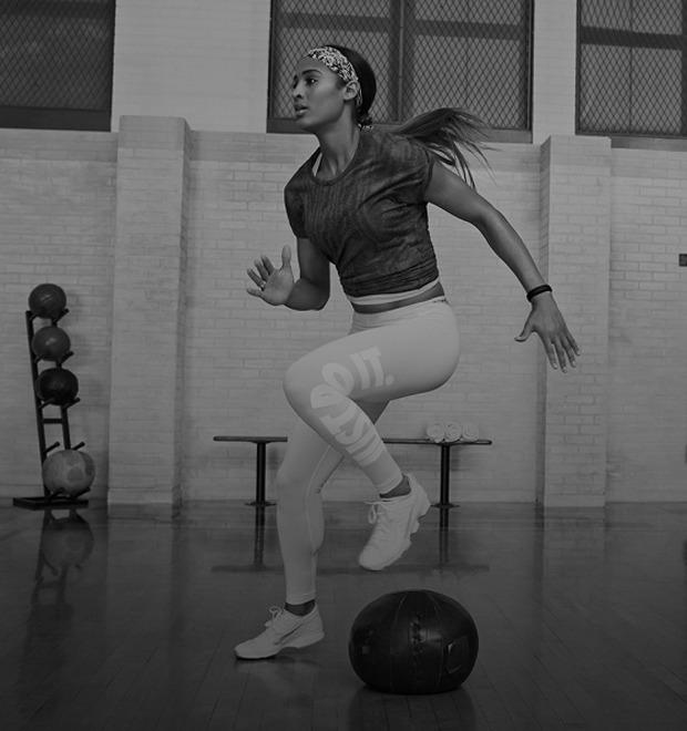 Как выглядит тренировочный курс Скайлар Диггинс в приложении Nike — Культура на FURFUR