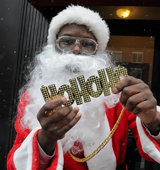 Плохие Санты: Фотохроника самого безумного рождественского флешмоба — Культура на FURFUR