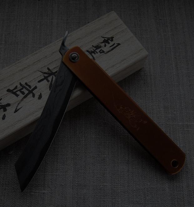 Инвентарь: Японский складной нож хигоноками