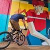 Дмитрий Аске выполнил масштабную работу, посвященную велосипедистам