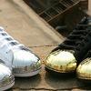 Adidas Originals выпустила кроссовки Superstar 80s с металлическими мысками