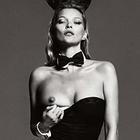 В сети появилась съемка Кейт Мосс для юбилейного номера журнала Playboy