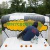 Уличный художник разрисовывал грузовики в Нью-Йорке в рамках проекта NYC Box Truck