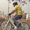 Израильский изобретатель сделал велосипед из картона