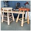 Ручная работа: Барный стул The Baseball Bat Stool Company