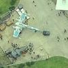 Дрон сделал фото военной базы со съёмок «Звёздных войн»