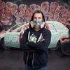 Уличный художник Nychos в рамках арт-проекта разрисовал новую Volvo