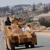 Сирийские повстанцы бросили в бой с «Исламским государством» DIY-танк