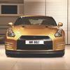 Nissan изготовил эксклюзивный золотой суперкар GT-R в честь Усэйна Болта