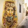 Парижская галерея превратила тунисскую деревню в музей граффити