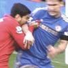 Футболист по кличке Каннибал укусил игрока «Челси»