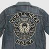 Художники Шепард Фейри и Андре Сарайва разработали нашивки для джинсовых курток Levi's