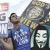 Группировка Anonymous атаковала баптистскую церковь