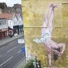 В Бристоле появилось граффити с танцующим брейк Иисусом