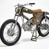 Мастерская Super Motor Company собрала новый мотоцикл на базе Honda Super Cub