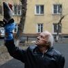 101-летний житель Сибири превратил замороженную рыбу в муляж олимпийского факела