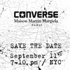Марки Maison Martin Margiela и Converse объявили о грядущей коллаборации