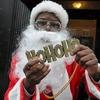 Плохие Санты: Фотохроника самого безумного рождественского флешмоба