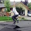 Скейтеры превратили разрушенные землетрясением дороги в рампу