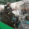 Американского байкера похоронили вместе с мотоциклом