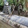 Полиция Колумбии захватила подлодку для транспортировки кокаина