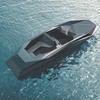 Заха Хадид создала быстроходный асимметричный катер в стиле истребителя «Стелс»