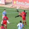 Вратарь футбольного клуба «Алькудия» забил гол «ножницами»