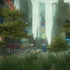 Швед разработал сервис, превращающий города на Google Street View в джунгли