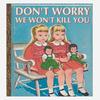 Иллюстратор Боб Стэйк создал пародии на обложки старых детских книжек