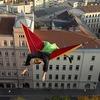 Житель Вены уснул в гамаке на 30-метровой высоте