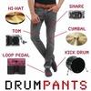 Американский музыкант встроил MIDI-контроллер в джинсы
