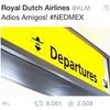 Голландская авиакомпания разозлила мексиканских фанатов расистским твитом