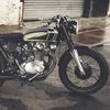 Английская мастерская Untitled Motorcycles представила каферейсер Honda CB350