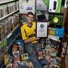 Самую большую коллекцию видеоигр продали за 750 тысяч долларов