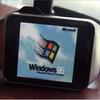 Подросток установил на «умные» часы Windows 95