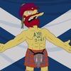 Садовник Вилли из «Симпсонов» выступил за независимость Шотландии