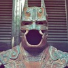Художник сделал костюм Бэтмена в стиле древних майя