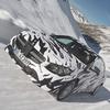 Mercedes показали новый закамуфлированный спортивный седан