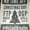 Рождественские протесты в США пройдут под лозунгом «Fuck the police»