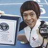 Японский «Человек-обезьяна» побил рекорд в беге на четвереньках