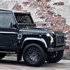 Британское ателье представило внедорожник Land Rover, отделанный тканью Harris Tweed