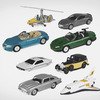 Вышел набор миниатюрных моделей автомобилей Джеймса Бонда