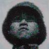 Художник Джо Блэк сделал портрет из 5500 игрушечных солдатиков