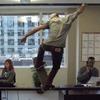 Команда скейтбордистов Red Bull построила скейт-парк в офисе