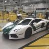 Полицейские Дубая сядут за руль Lamborghini Aventador