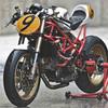 Создатели нашумевшего каферейсера Ducati 9 1/2 выставили свой мотоцикл на продажу