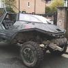 Англичанин превратил Land Rover в бронемобиль из игры Halo