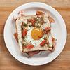 Похмельный завтрак: Яйцо в корзинке