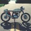 Мастерская Bare Bone Rides выпустила каферейсер на основе Honda CB200T