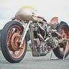Мотоцикл немецкой мастерской Thunderbike победил в чемпионате мира по кастомайзингу